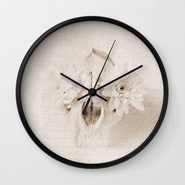 Beautiful Death Wall Clock