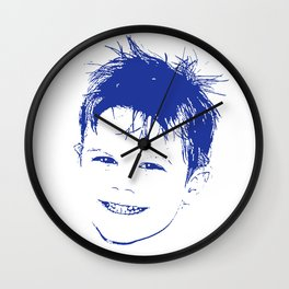 Happy Lad Wall Clock