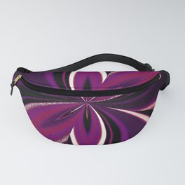 Apothisexual Pride Pinched Petal Ripples Fanny Pack
