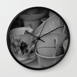 Teacups  Wall Clock