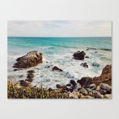 Leo Carrillo State Beach, Malibu Canvas Print