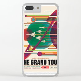 Old Sign NASA / The grand tour Clear iPhone Case