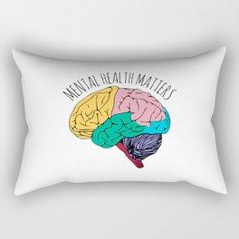 MENTAL HEALTH MATTERS Rectangular Pillow