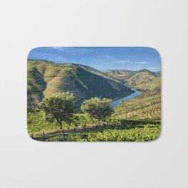 Vale do Douro vineyards Bath Mat