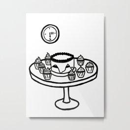 Dauntless Breakfast Metal Print
