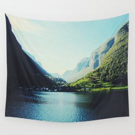 Mountains XII Wall Tapestry