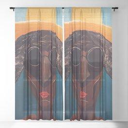 La Doña del Sol Sheer Curtain