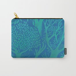 Blue Forrest Carry-All Pouch