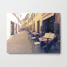 Italy Tuscany Cortona. Metal Print
