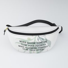 Be your priority - Mark Twain Collection Fanny Pack