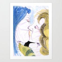 Give me some love Art Print