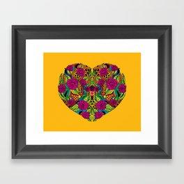I Heart Framed Art Print