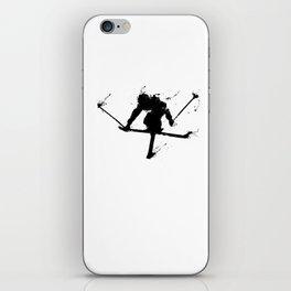 Ski jumper iPhone Skin