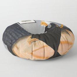 Whisker's Mother Floor Pillow