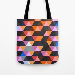 Funky Geometric Tote Bag