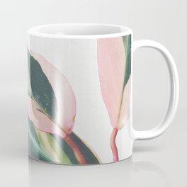 Pink Leaves II Coffee Mug