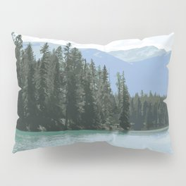 Mountain Waters Calming and Clear Pillow Sham