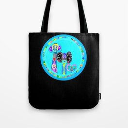Elephant Masks Tote Bag