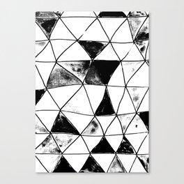 Vitro black and white Canvas Print