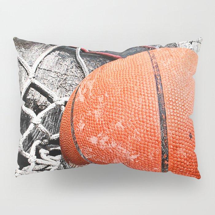 Modern Basketball Art 8 Pillow Sham