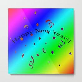 Happy New Year!! Metal Print