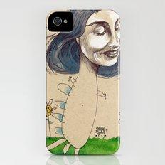 DINOSAUR GIRL Slim Case iPhone (4, 4s)