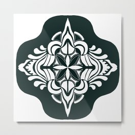Tile art Metal Print