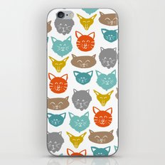 Cats (cats) iPhone & iPod Skin