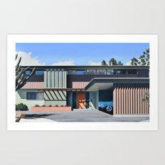 Williams Residence Art Print