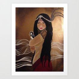Agas: Medicine Woman Art Print