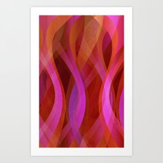 Abstract background G138 Art Print