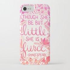 Little & Fierce – Pink Ombré iPhone 7 Slim Case