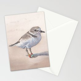 Monterey Bay Snowy Plover Stationery Cards