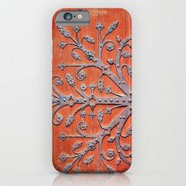 Gothic Red Door iPhone Case