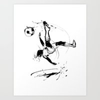world cup Art Prints featuring World Cup 2014 by Kyle T Webster