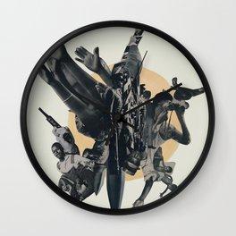 Black Powder Wall Clock