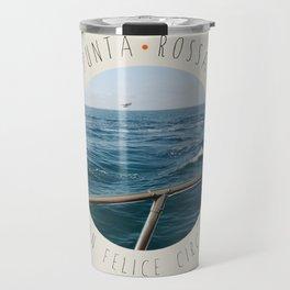Punta Rossa - San Felice Circeo Travel Mug