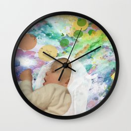 Great Achievements all begin with a Dream Wall Clock