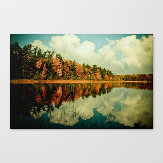 Birth of a Cloud Canvas Print