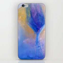 Watercolor and Cube 1 iPhone Skin