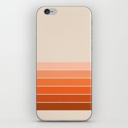 Red Rock Spring Stripes iPhone Skin