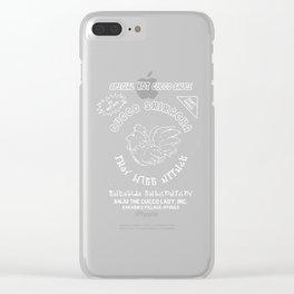 Cucco Sriracha Clear iPhone Case