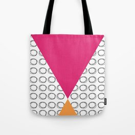 Abstract Circles and Triangles Tote Bag