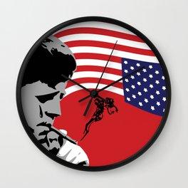 Star Spangled Assassination - JFK Wall Clock
