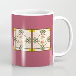 Chinese Antique - window frame Coffee Mug