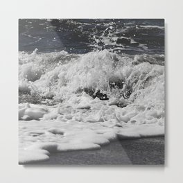 Salty splash Metal Print