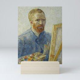 Self Portrait as a Painter Mini Art Print