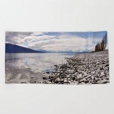 Lake Te Anau Beach Towel