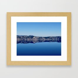 Crater Lake 2 Framed Art Print
