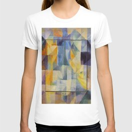 "Robert Delaunay ""Simultaneous Windows onto the City"" (1st Part, 2nd Motif, 1st Replica) T-shirt"